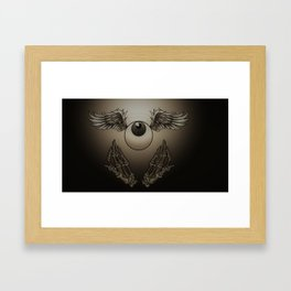 Heavenly Eyeball Framed Art Print