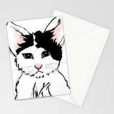 Sadface Cat Sketch Stationery Cards