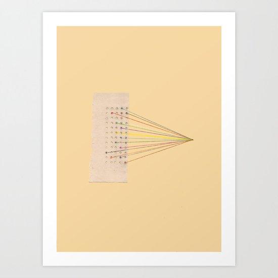 Plugs Art Print