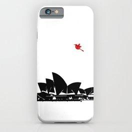 Sydney opera house silhouette Australia Sydney city iPhone Case