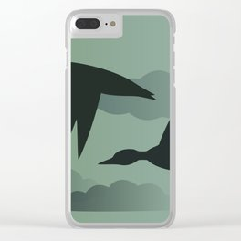Flying South Clear iPhone Case