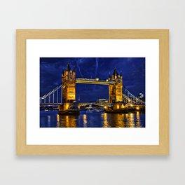 Tower Bridge , London, England, UK Framed Art Print