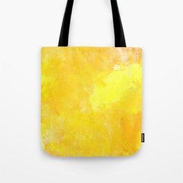 yellow watercolor Tote Bag
