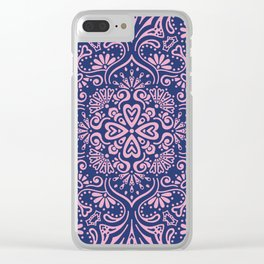 Mandala 10 Clear iPhone Case