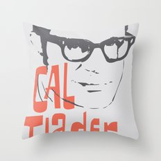 CAL TJADER Throw Pillow