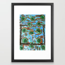 Mississippi Blue Framed Art Print