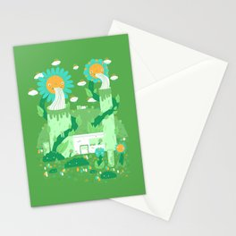 Power plant Stationery Cards