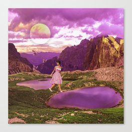 Magical landscape Canvas Print