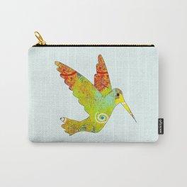 Along the Rio Grande: Hummingbird Carry-All Pouch