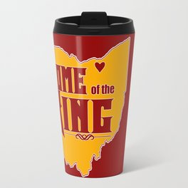 Home of the King (Red) Travel Mug