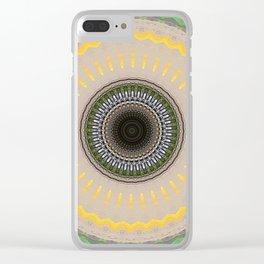 Recreational Maylanta Mandala 111 Clear iPhone Case