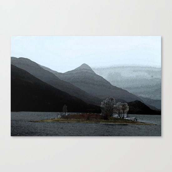 In the gloaming Canvas Print