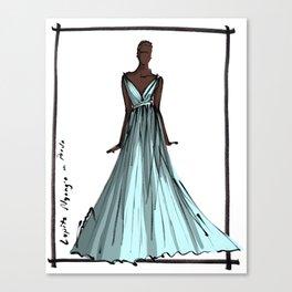 Lupita Nyong'o at the Oscars 2014 Canvas Print