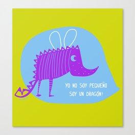 pequeño dragón Canvas Print