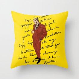 Posty Throw Pillow