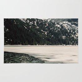 Morskie Oko In Snow Rug