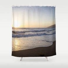 A Southern California Spring Sunset Shower Curtain