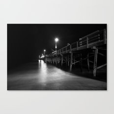 Newport Pier Canvas Print