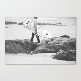 catch a wave IV Canvas Print