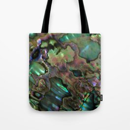 Oil Slick Abalone Mother Of Pearl Tote Bag