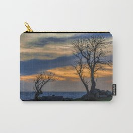 Sunset Scene at Waterfront Boardwalk, Montevideo Uruguay Carry-All Pouch