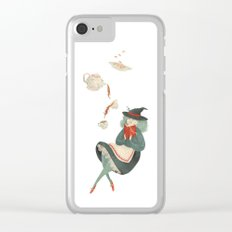 Witchy Tea Clear iPhone Case
