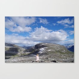 Dalsnibba Canvas Print
