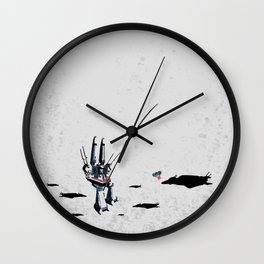 Super Downtime Fortress Wall Clock