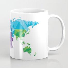 World of geometric concept design  Coffee Mug