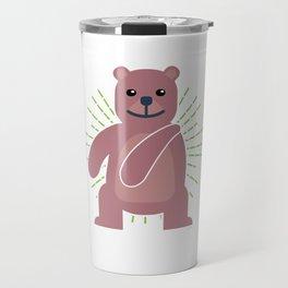 Trends Exercise Movement Flossing Gift Floss Dance Move Bear Travel Mug