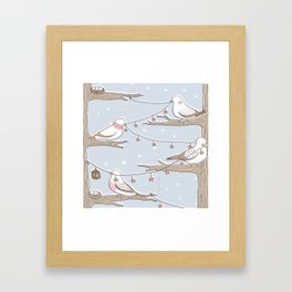 Birdies Framed Art Print