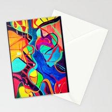 Confrontation Stationery Cards
