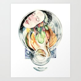 The Hourglass Art Print