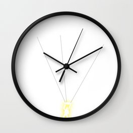 When Nature Rescues Wall Clock
