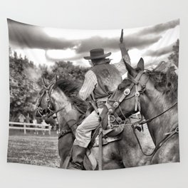 Outlaws Ride Again Wall Tapestry