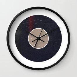 Vinyl Record Star Sign Art | Virgo Wall Clock