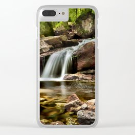 Summer Falls Clear iPhone Case