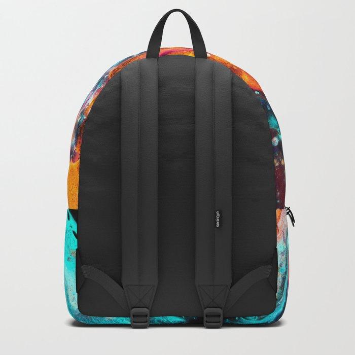 Paint Swirl Euphoria Backpack