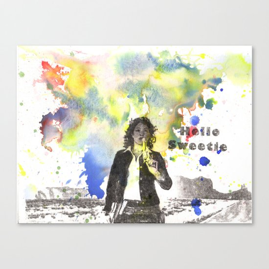 Riversong From Doctor Who Hello Sweetie Canvas Print