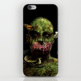 Moss Man iPhone Skin