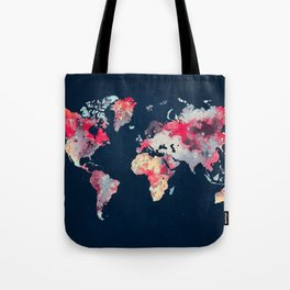 world map 69 Tote Bag