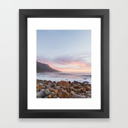 Standard Cape Town Framed Art Print