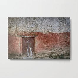Lamayuru Monastery Door Metal Print