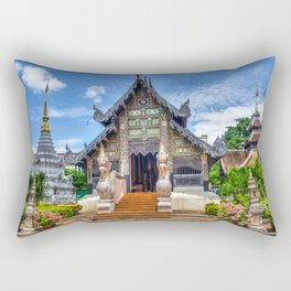 Temple Rectangular Pillow