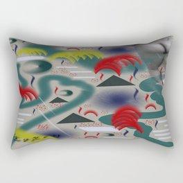 Homage to Balzac n.2 Rectangular Pillow