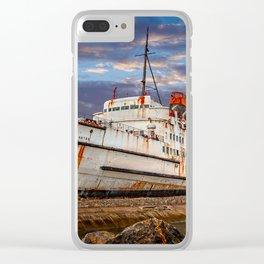 Duke of Lancaster Sunset Clear iPhone Case
