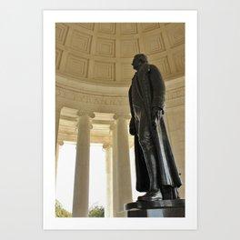 The Jefferson Memorial Art Print