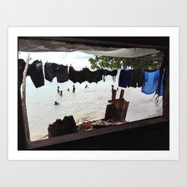 No Mercy Window Art Print