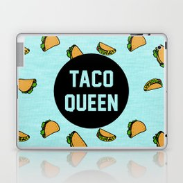 Taco Queen - blue Laptop & iPad Skin