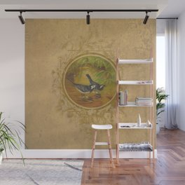 Two Birds Wall Mural